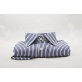 Camicia a righe slim-fit 001