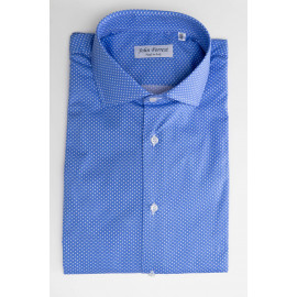 Camicia Slim-Fit a Pois